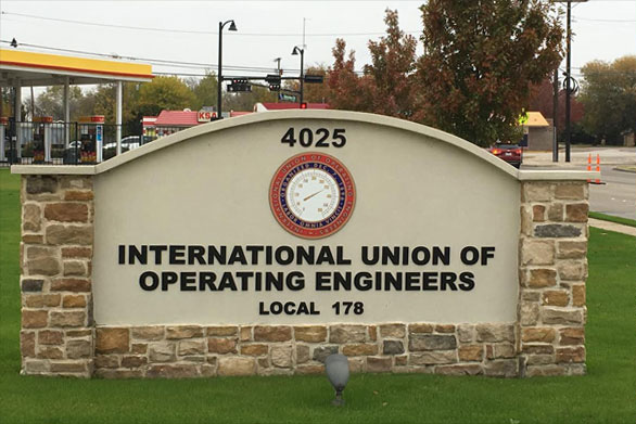 LocaL 178 sign